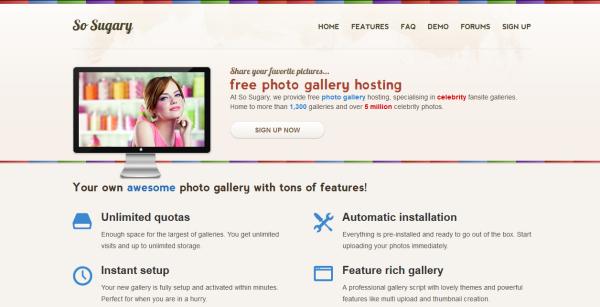 free gallery hosting
